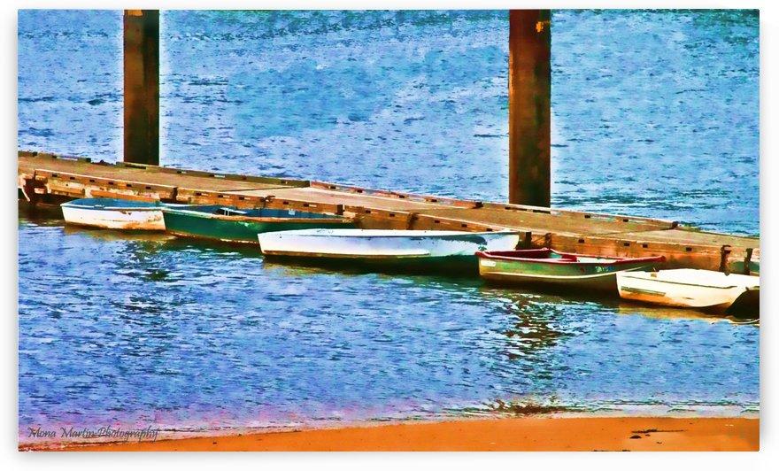 Boats Landing by Mona Martin
