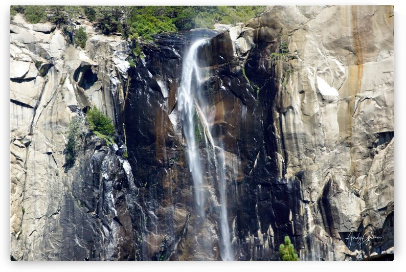 Neveda Falls in Yosemite by Andy Griner