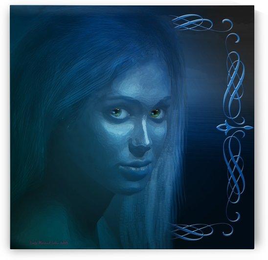 Blue Eyes by Lutz Roland Lehn