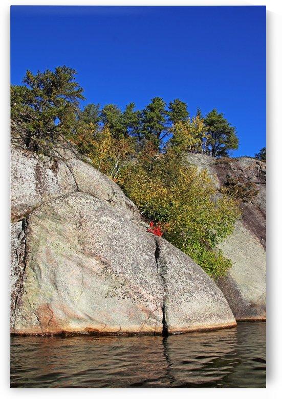Rock Formations Key River II by Deb Oppermann