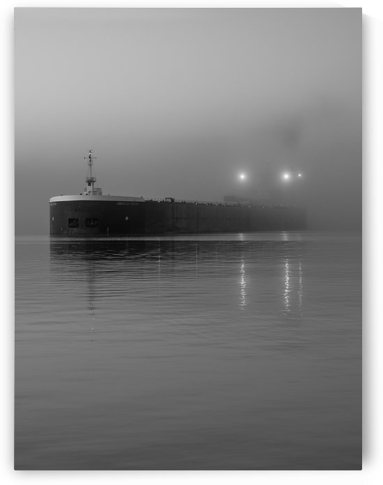 Ship in the Fog by Jeremy Kasapidis