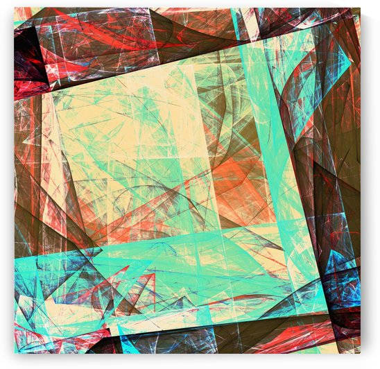 Abstract Composition 455 by Angel Estevez