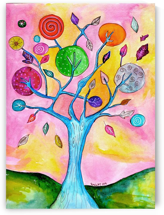 whimsical tree by Roxie Colors