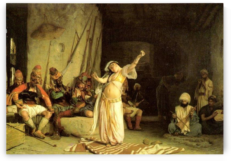 The Dance of the Almeh by Jean-Leon Gerome