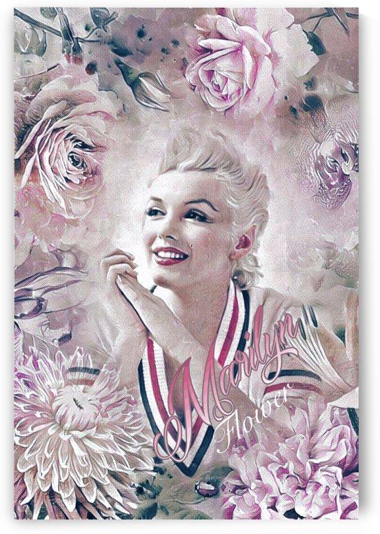 Marilyn Flower by Ivan Venerucci Italian Style