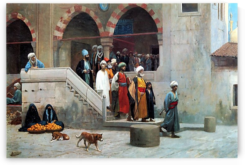 Divided Core by Jean-Leon Gerome