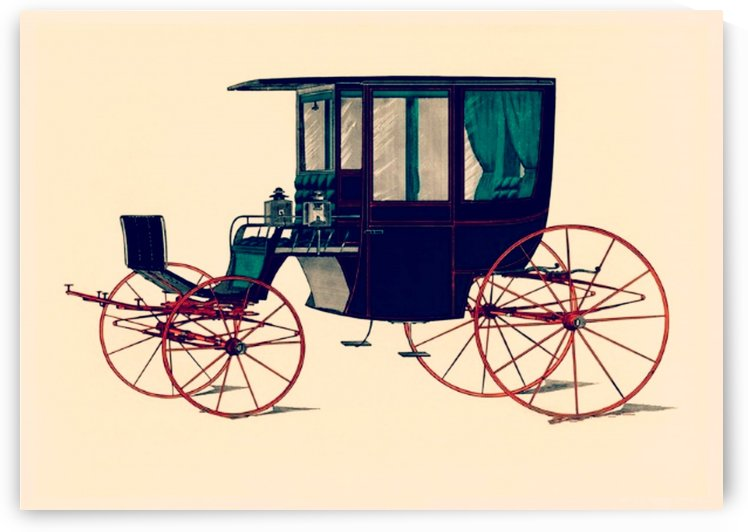Vintage Drawn Carriage by Smithson