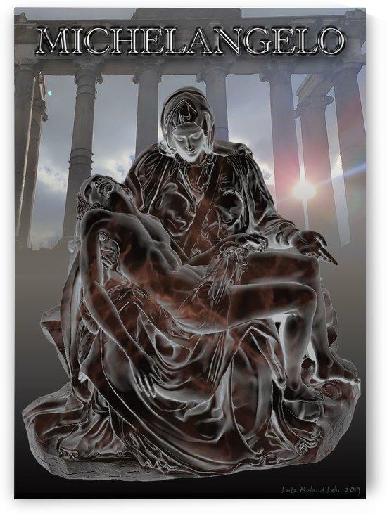 Michelangelo Roman Pieta 1 by Lutz Roland Lehn