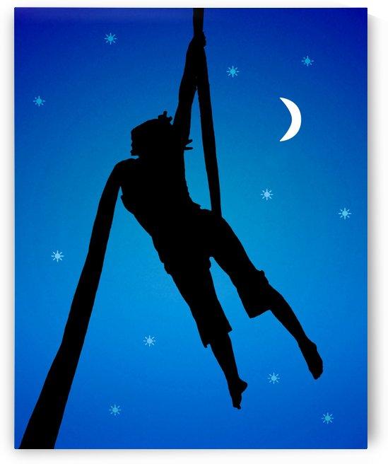 Fantasy Silhouette Style Illustration Scene by Daniel Ferreia Leites Ciccarino