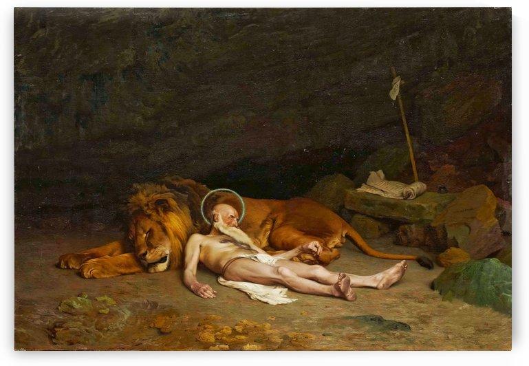 Saint Hieronymus by Jean-Leon Gerome