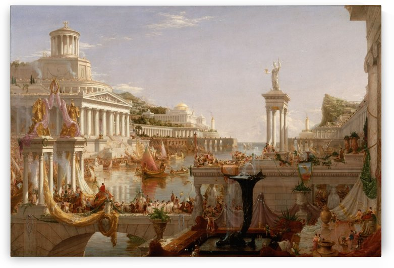 Course of an empire by Jean-Leon Gerome