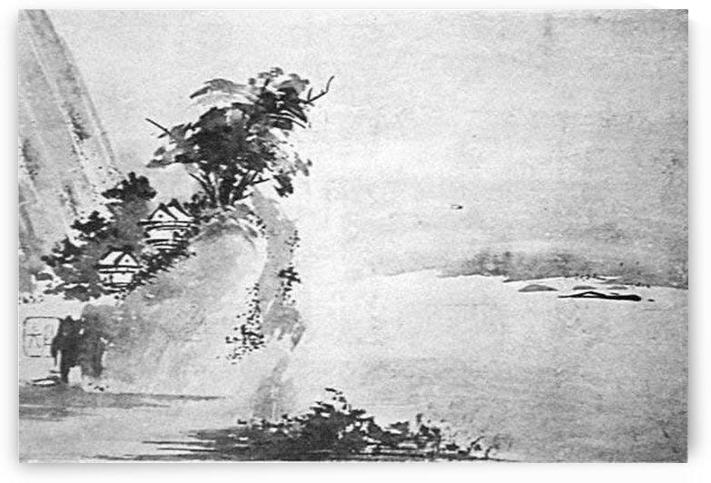 Graphic landscape by Miyamoto Musashi