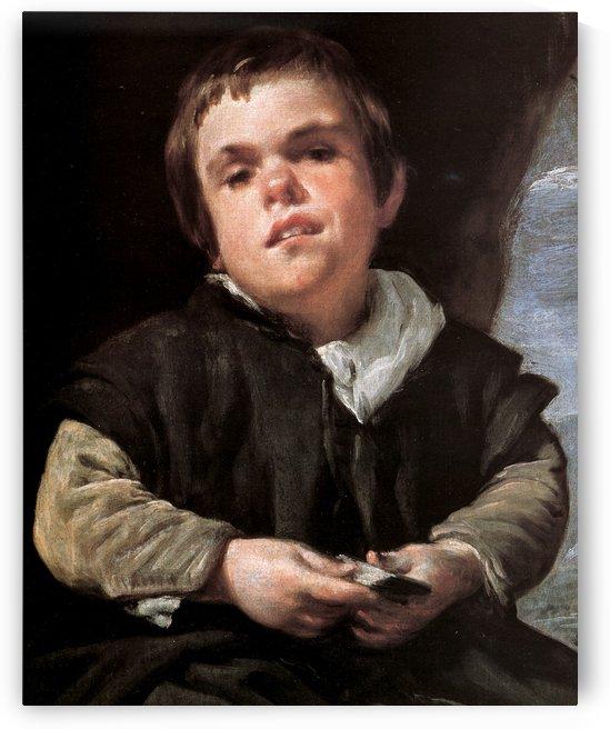 Dwarf by Diego Velazquez