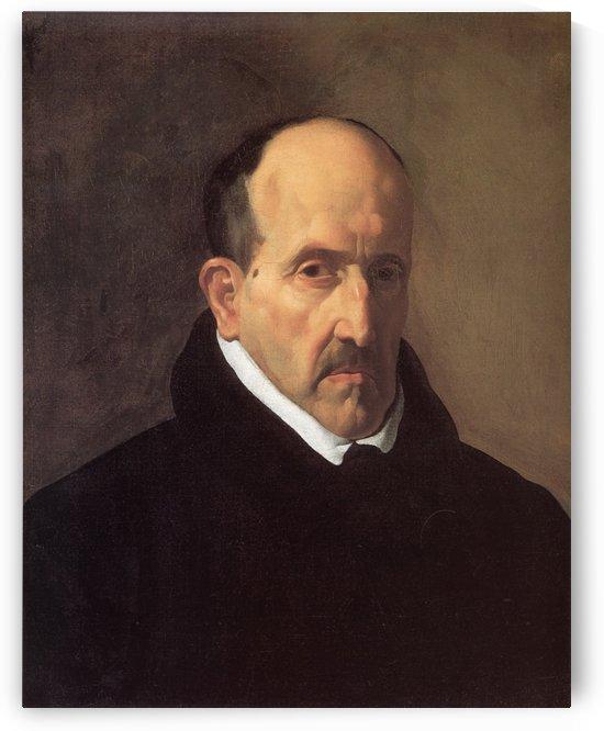 Portrait of Don Luis de Gongora y Argote by Diego Velazquez