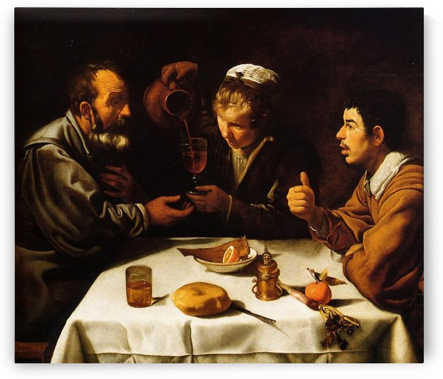 The Lunch by Diego Velazquez