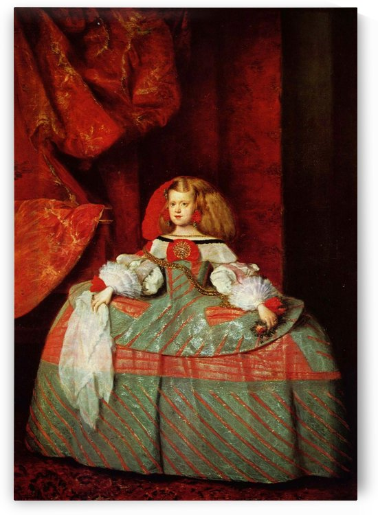 Infanta Maria Marguerita by Diego Velazquez