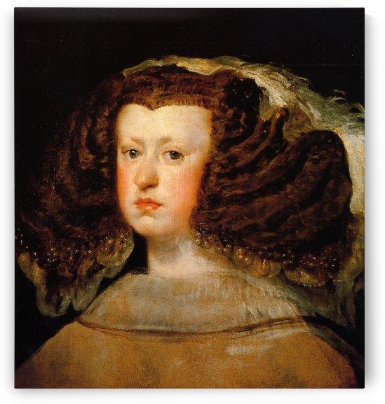 Queen Mariana by Diego Velazquez
