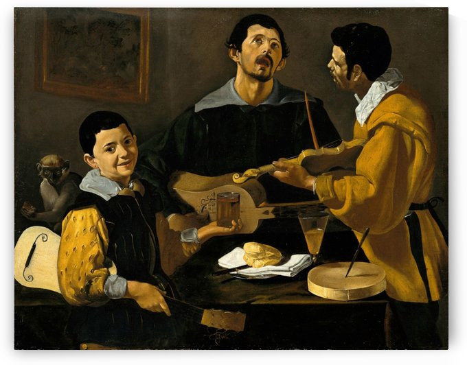 The Three Musicians by Diego Velazquez