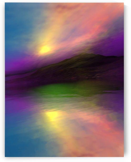 Sunset Colors 4 by Angel Estevez