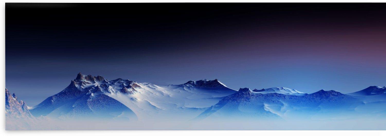 Snowy Mountains 3 by Angel Estevez