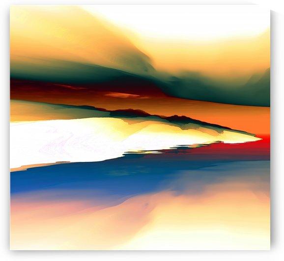 Abstract Landscape 2 by Angel Estevez