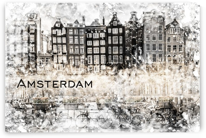 AMSTERDAM Collage by Melanie Viola