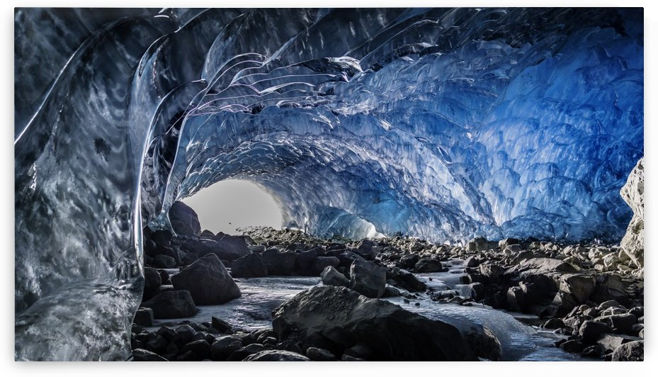 ice cave 1 of 1 by Billy Stevens media & Imagery