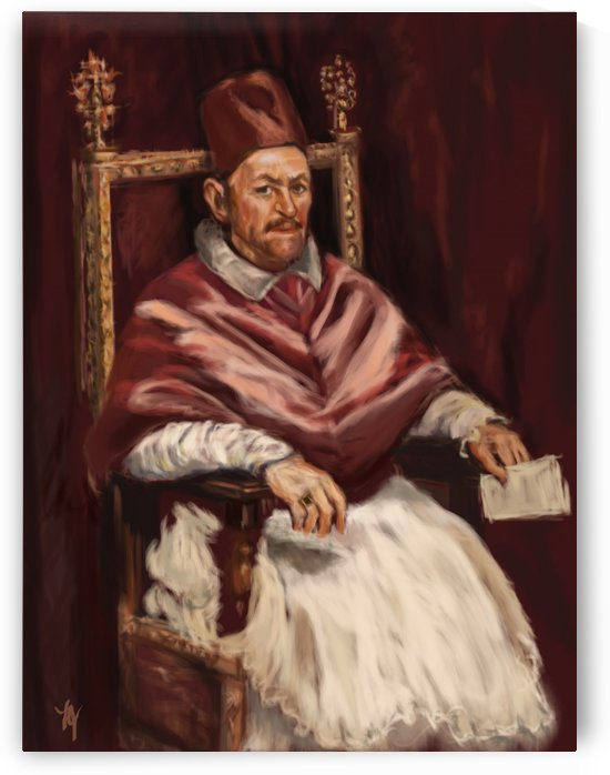 The Portrait of Pope Innocent X by Diego Velazquez
