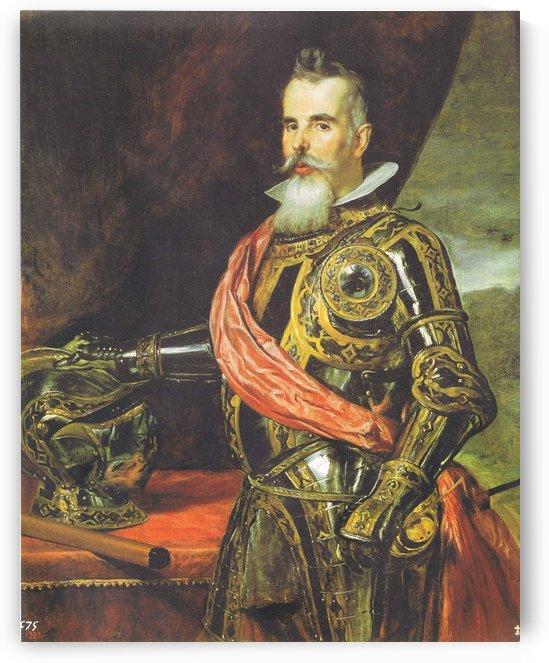 Portrait of a knight by Diego Velazquez