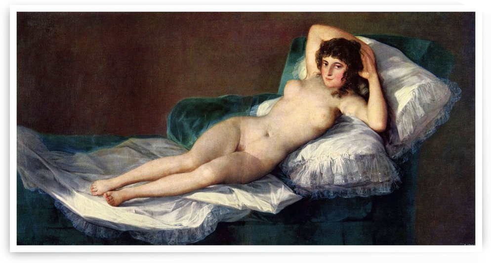 The Naked Maja by Diego Velazquez