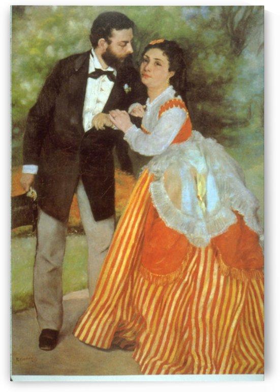 Alfred Sisley by Renoir by Renoir