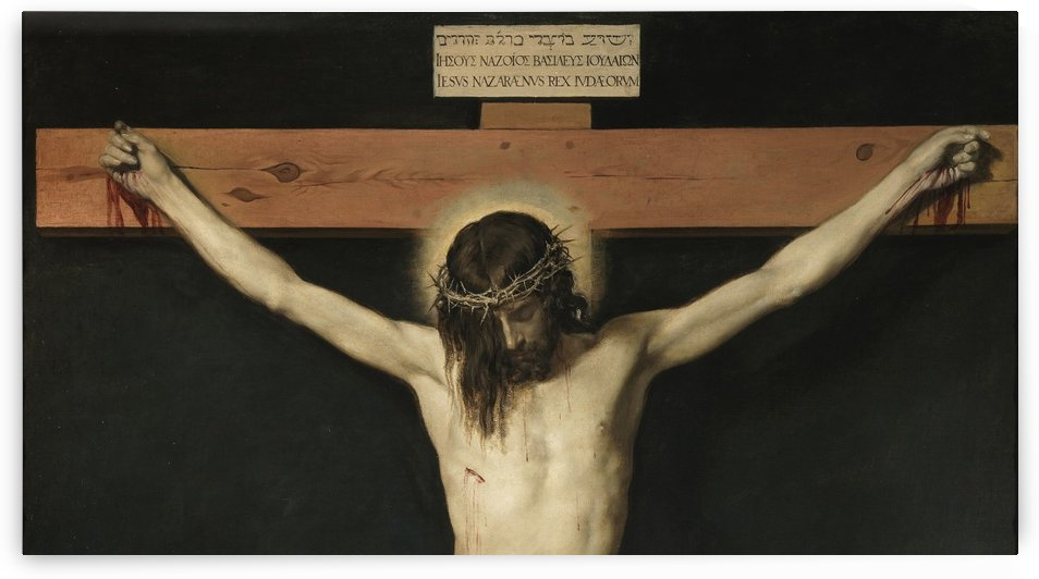 Christ Crucified by Diego Velazquez