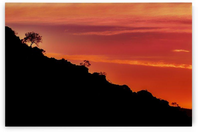 Countryside Sunset Landscape Scene, Lavalleja Department, Uruguay by Daniel Ferreia Leites Ciccarino