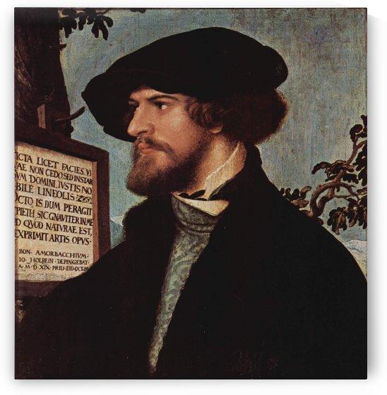 Portrait of Bonifacius Amerbach by Hans Holbein