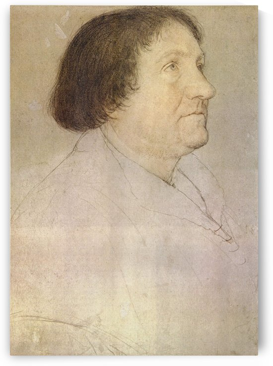 Portrait of Jakob Meyer zum Hasen, Mayor of Basel by Hans Holbein