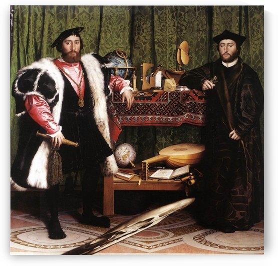 Ambassadors by Hans Holbein