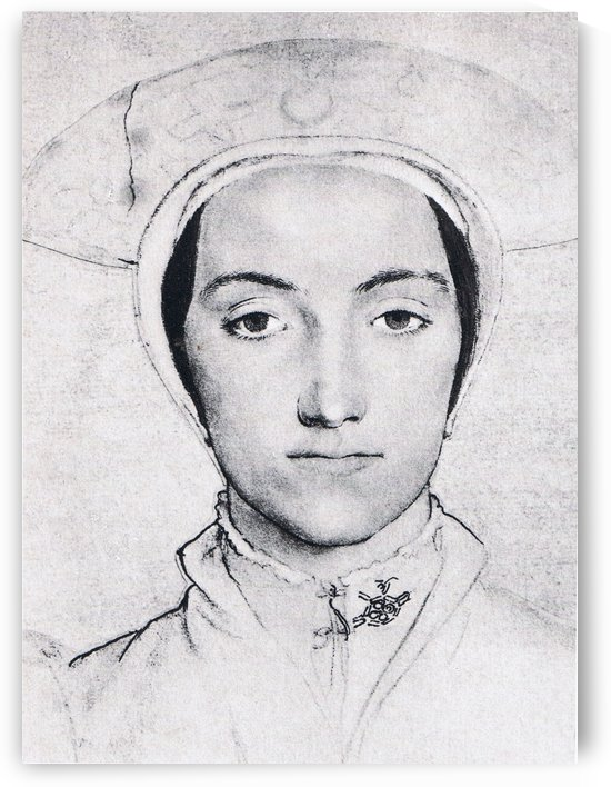 Portrait of Anne Boleyn by Hans Holbein