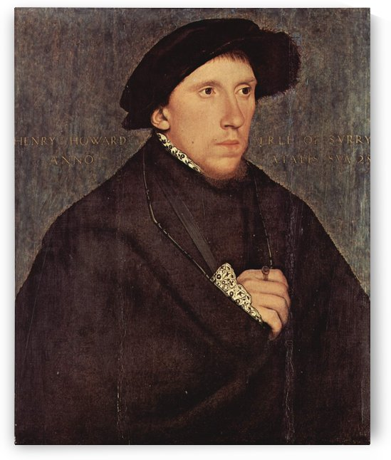 Henry Howard, Earl of Surrey by Hans Holbein