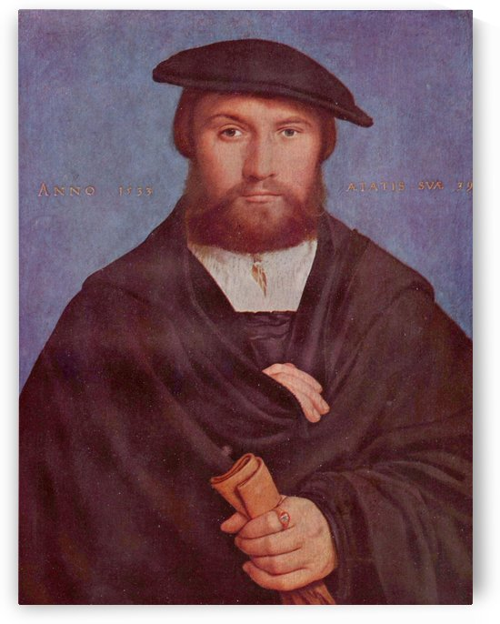 Portrait of a Member of the Wedigh Family by Hans Holbein