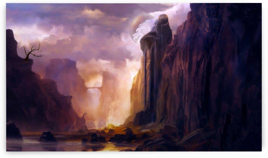 Rock Walls by Angel Estevez