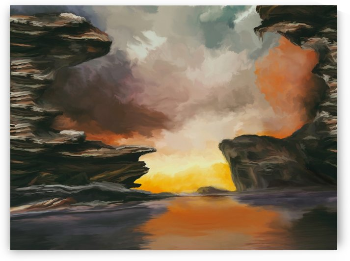 Rock Formations by Angel Estevez