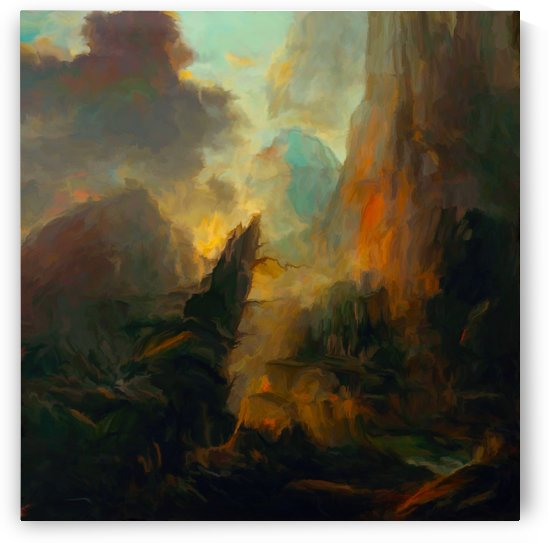 Fierce Landscape by Angel Estevez