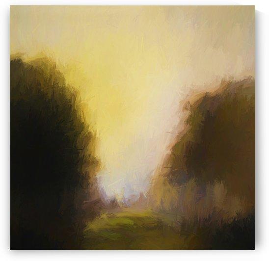 Impressionist landscape by Angel Estevez
