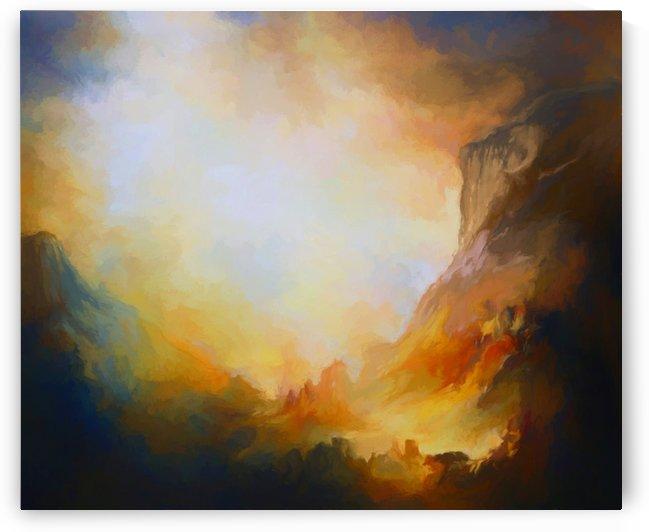 Mountainous landscape 13 by Angel Estevez