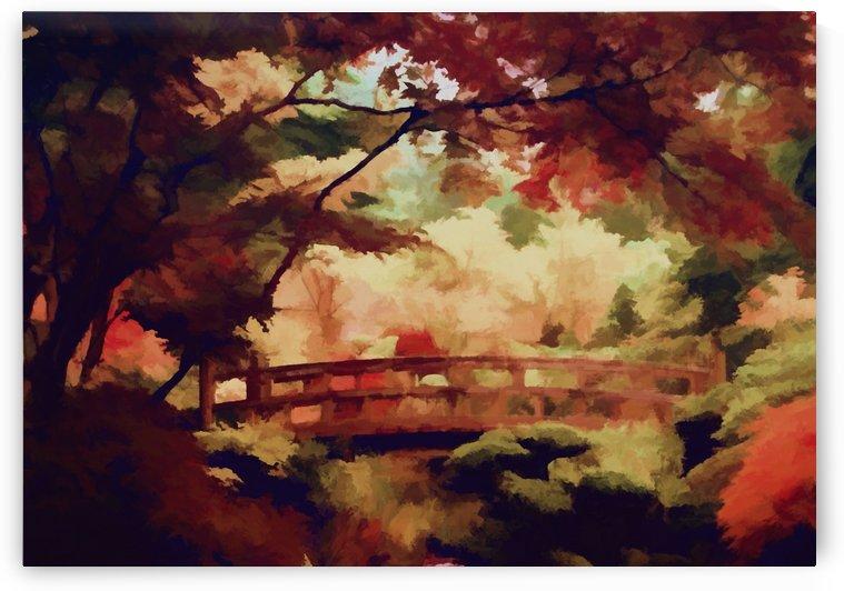 Autumnal Landscape 6 by Angel Estevez