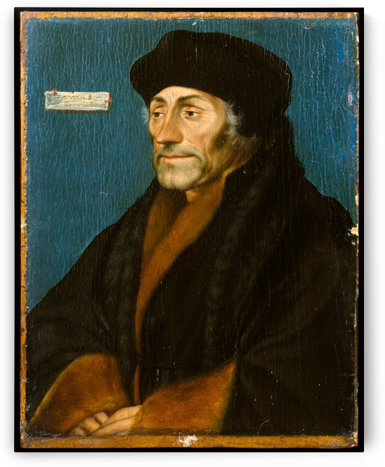 Erasmus of Rotterdam by Hans Holbein