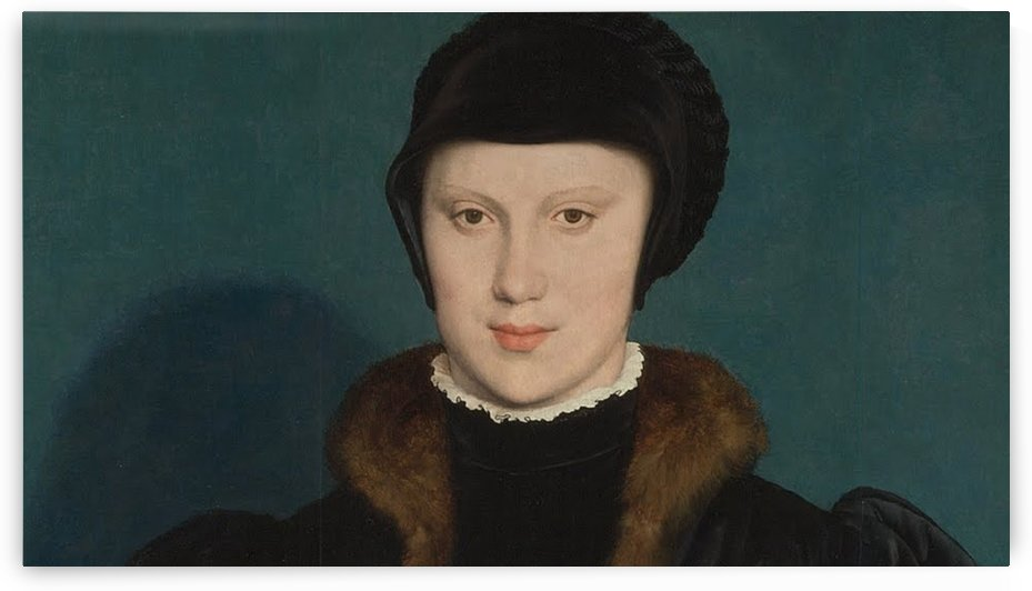 Portrait of Christina of Denmark by Hans Holbein