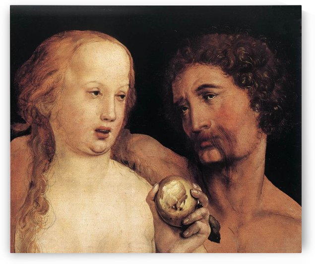 Adam and Eve by Hans Holbein