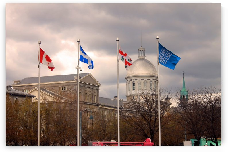 Flags of Montreal  by Gods Eye Candy