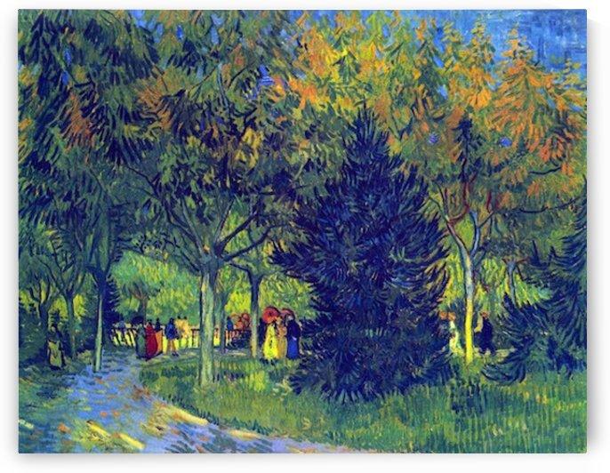 Allee in the Park by Van Gogh by Van Gogh